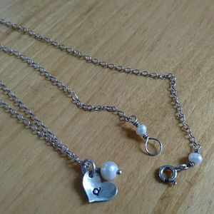Jewelry - Sterling initial D necklace